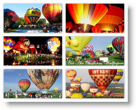 40 Hot Air Balloons Wallpapers