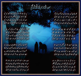 Main Aur Meri Awargi - Urdu Poetry