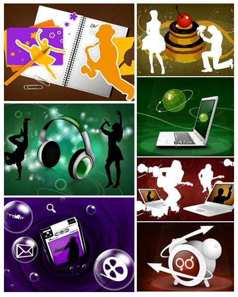 Technology Vector Art Wallpapers