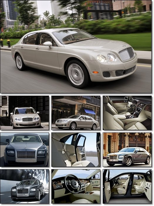 Grand Auto Wallpapers Pack 10 Rolls Royce & Bentley