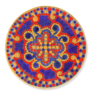Marion Rosetzky Gallery Round Tile