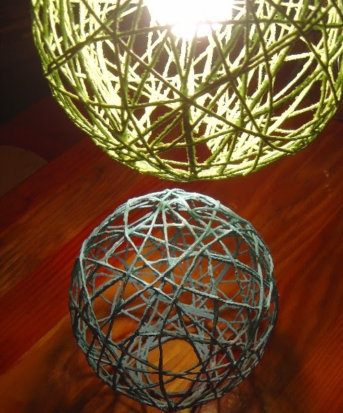 Balloon String Lights Diy : DIY String Lanterns, String Lighting Sallygoodin