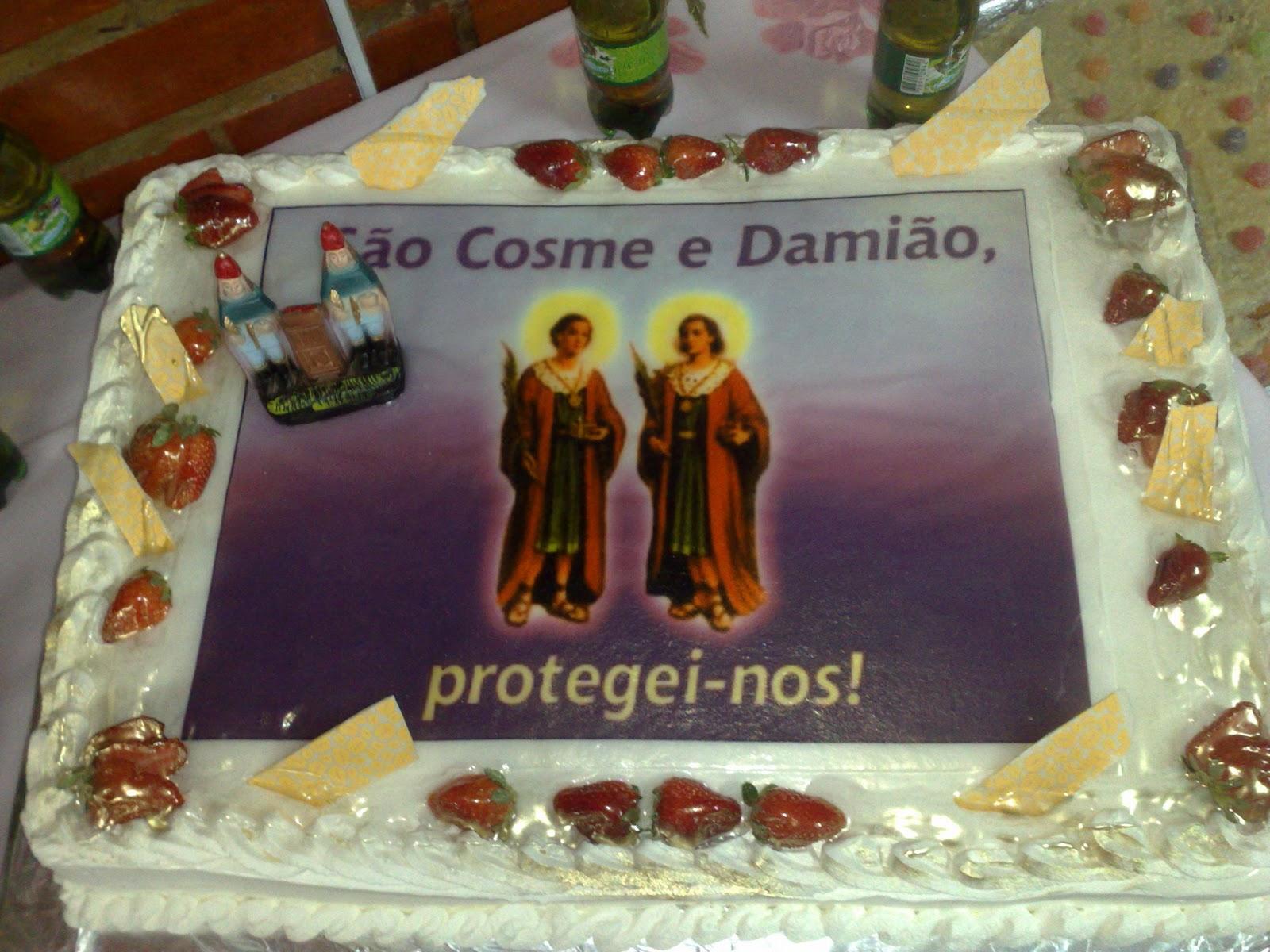 decoracao festa xango: Santo Antônio de Pádua: Alegria comanda a festa de Cosme e Damião