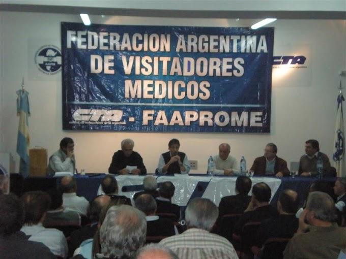 Salvador Agliano fue reelecto como Secretario General de FAAPROME-CTA