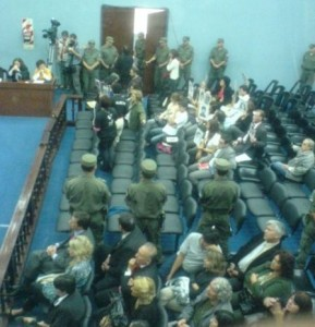 Bussi defendió el accionar militar durante la dictadura, Jornada 2