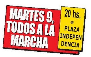 La CTA Tucumán en la calle reclamando Justicia