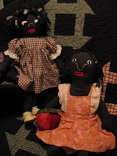 black folk dolls