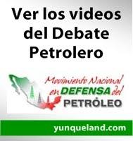 Debate petrolero