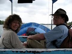 Kay and I Explore Lake Atitlan
