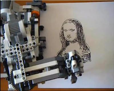 LEGO Mindstorm NXT Robot Is An Artist