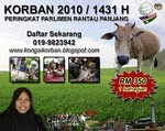 EMAILKAN PENYERTAAN KORBAN KEPADA rayaqurban@gmail.com