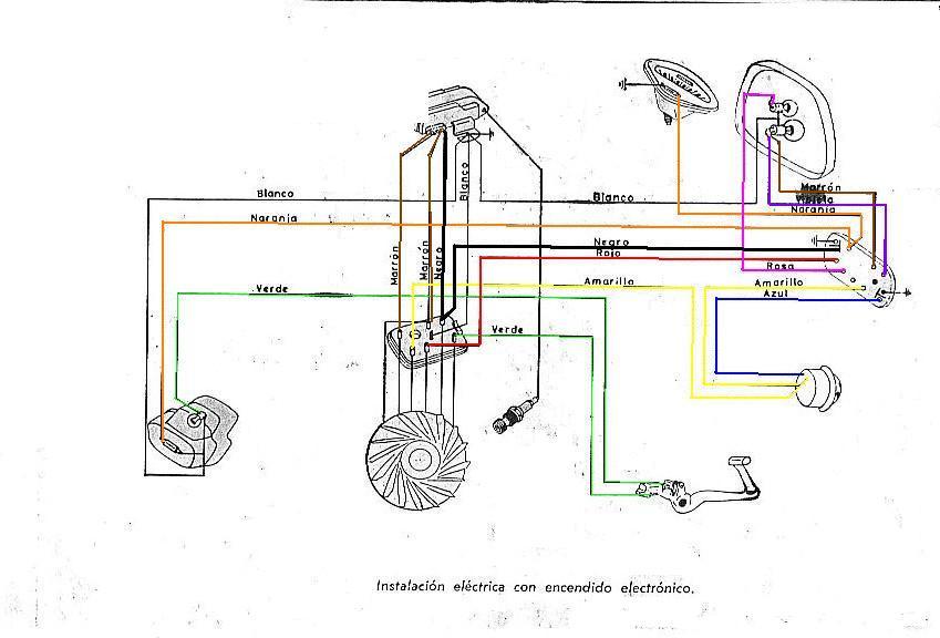 Motos Clasicas Jj  Esquemas El U00c9ctricos