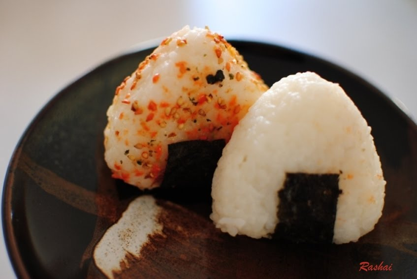 My passion about japan onigiri with furikake