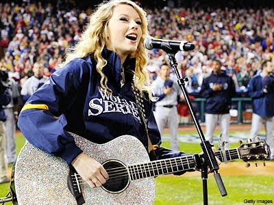 Taylor Swift Glitter Guitar