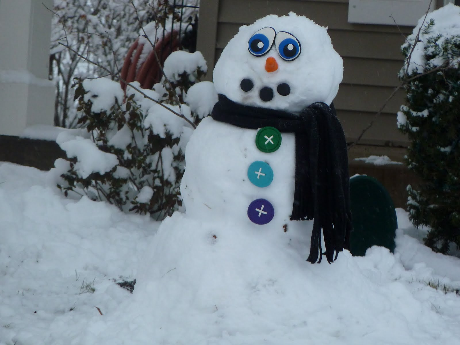 Sometimes Creative: Snowman Kit