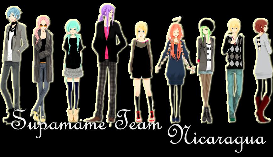 SupaMame Team Nicaragua