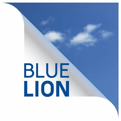 pub Peugeot Blue Lion