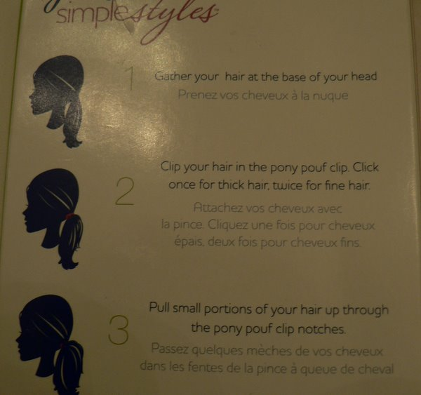 hairstyle instructions. Picture of Hairstyle Instructions