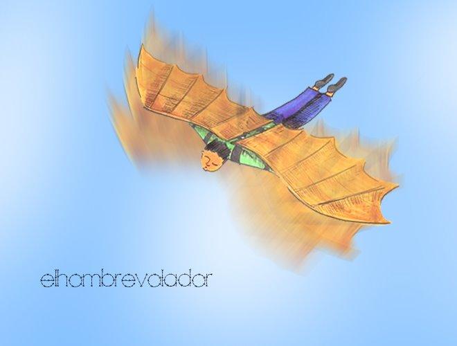 El hombre volador