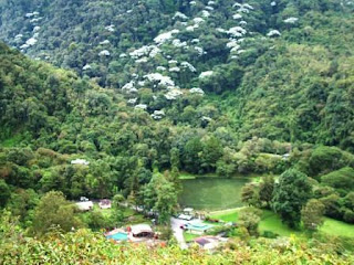 Parque Nacional Guaramacal. Venezuela bonita vista montañas andinas
