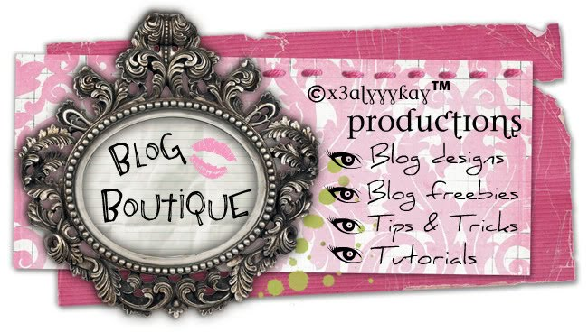 ©x3AlyyyKay™ Productions Blog Boutique