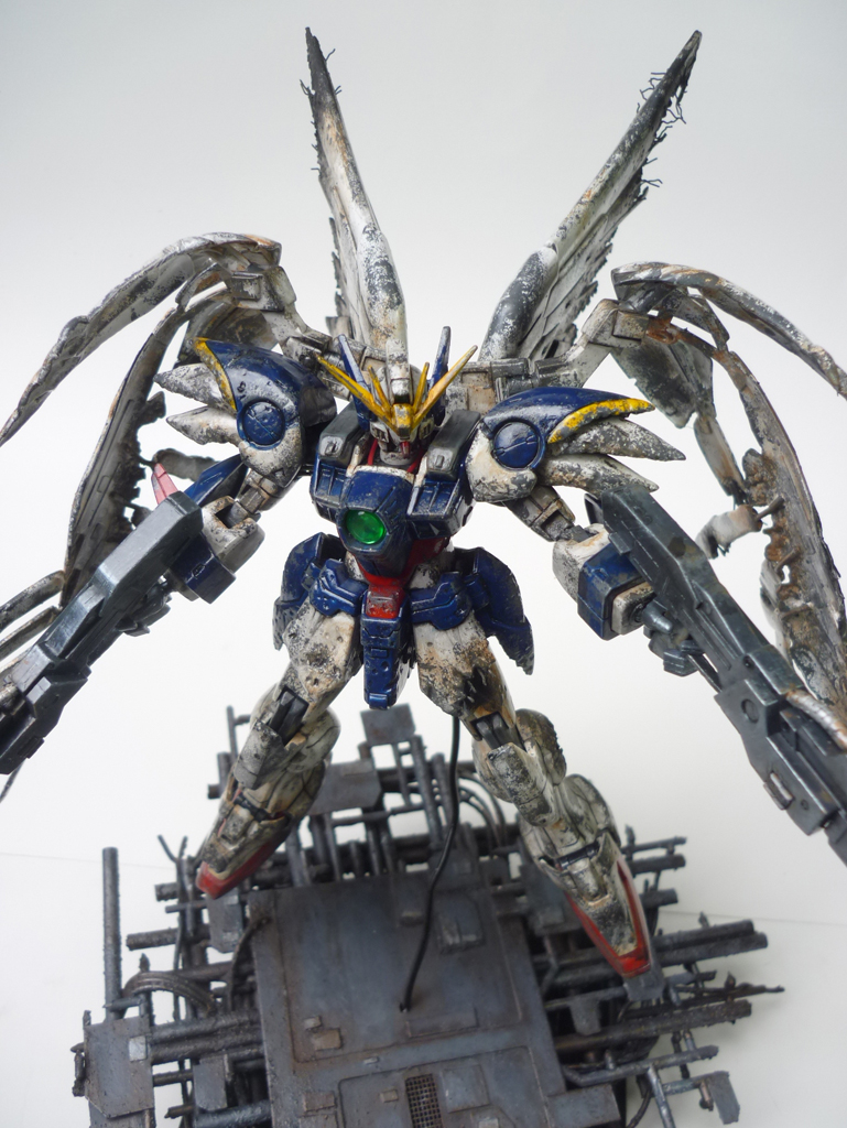 gundam custom build wing zero repair