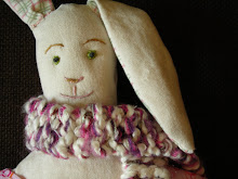 I made: this Purl Rabbit and her accessories