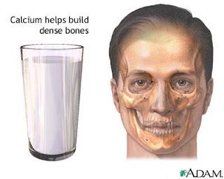 Calcium, Vitamin D and bone density