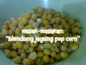 Blendung Jagung Pop Corn