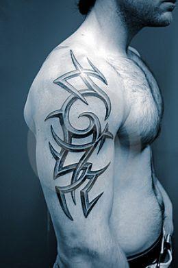 tattoo tribal arm