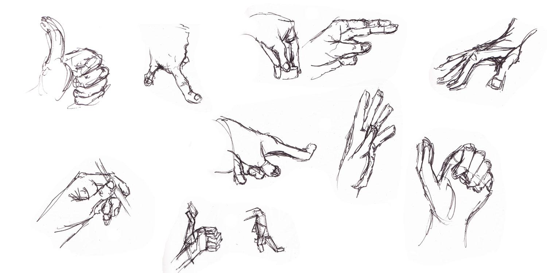Julien patron mains - Dessin de la main ...