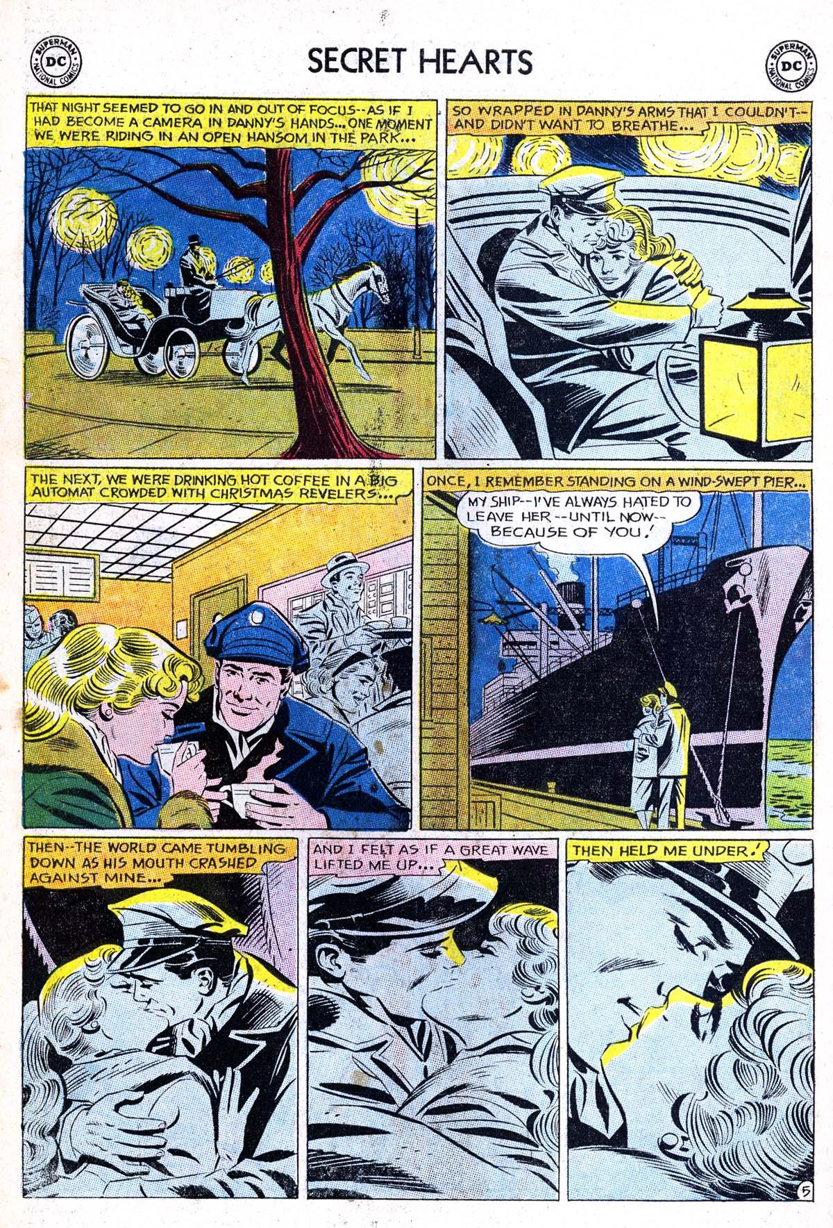 Read online Secret Hearts comic -  Issue #85 - 22