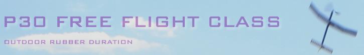 P30 free flight class