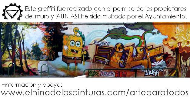 Arte callejero. Los Graffitis del mundo