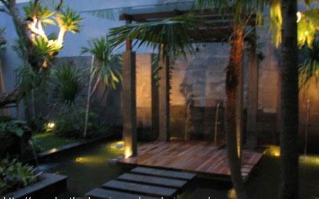 Desain Kebun Rumah Minimalis on Jasa Taman Malang  Taman Rumah Gayatropis Minimalis