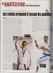 Antoine CUENCA Champion d'Europe