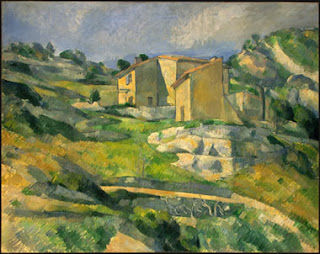 An Analogous Color Scheme Pertains To Colors That Are Adjacent On The System Painting Done By Paul Cezanne House In Provence Vicinity Of