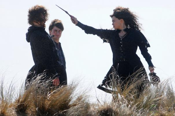 Hallows Potter vs. Bellatrix