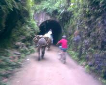 Tunel em Santa Rita de Jacutinga - MG