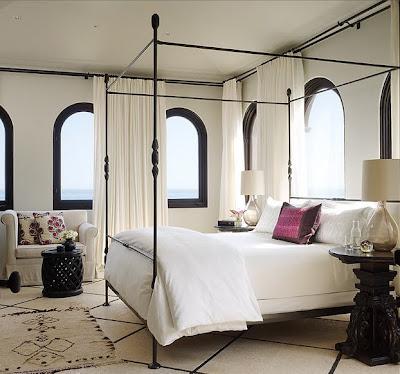 camas com dossel provençal