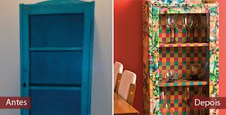 armario renovado com papel contact
