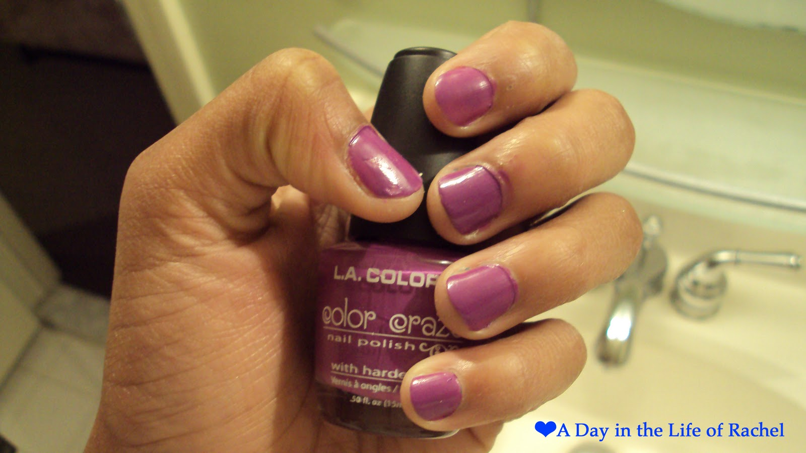 A Day in the Life Of Rachel: L.A. Colors Color Craze Nail Polish in ...