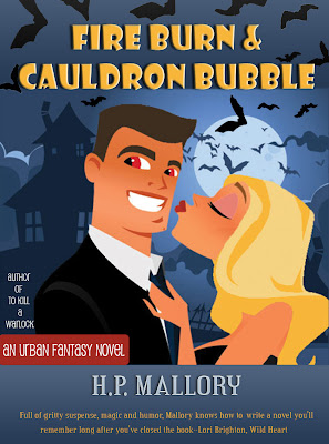 Fire Burn and Cauldron Bubble: The Jolie Wilkins Series, Book 1
