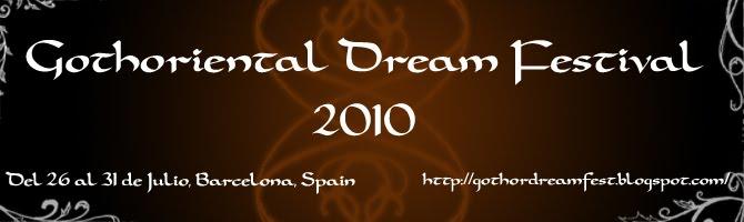 Gothoriental Dream Festival. Festival Nacional de danzas orientales y tribales goth y dark