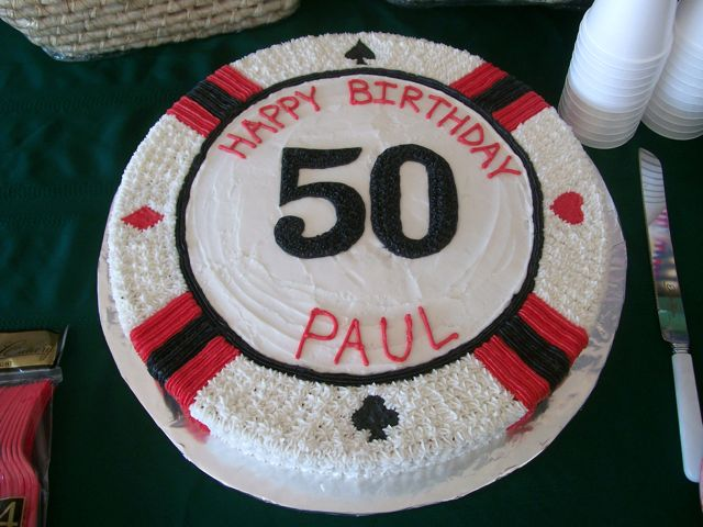 Cakes By Pamela Dads 50th Birthday