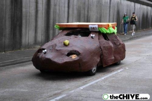 Crazy Funny Cars Floats 21