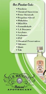 Watkins Natural Apothecary Products