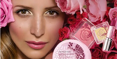 the body shop new moroccan rose products