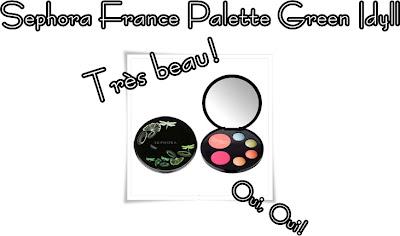 Sephora+France+Palette+Green+Idyll