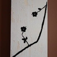 Handpainted growth stick by I Heart Sammi